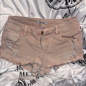 Rue 21 Mauve Shorts